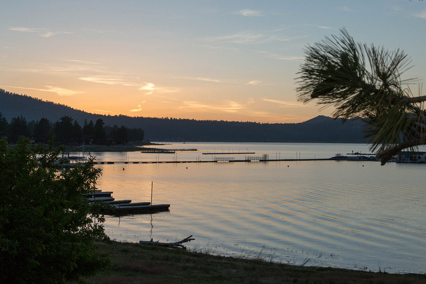 Big Bear Lake Sunset