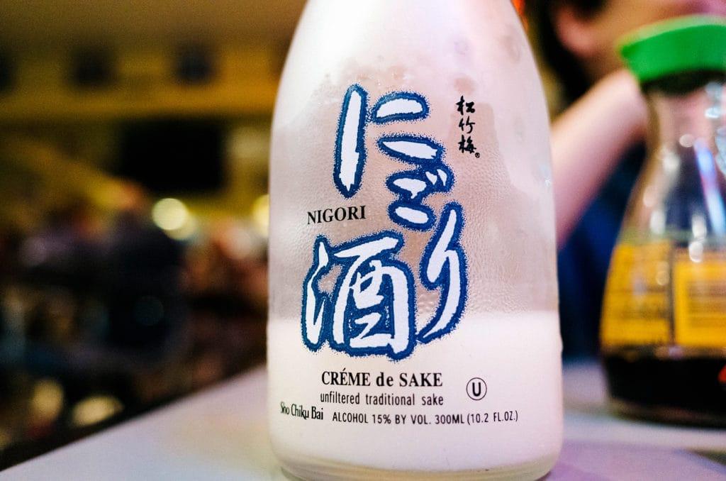 sake @ sushi toni, san francisco