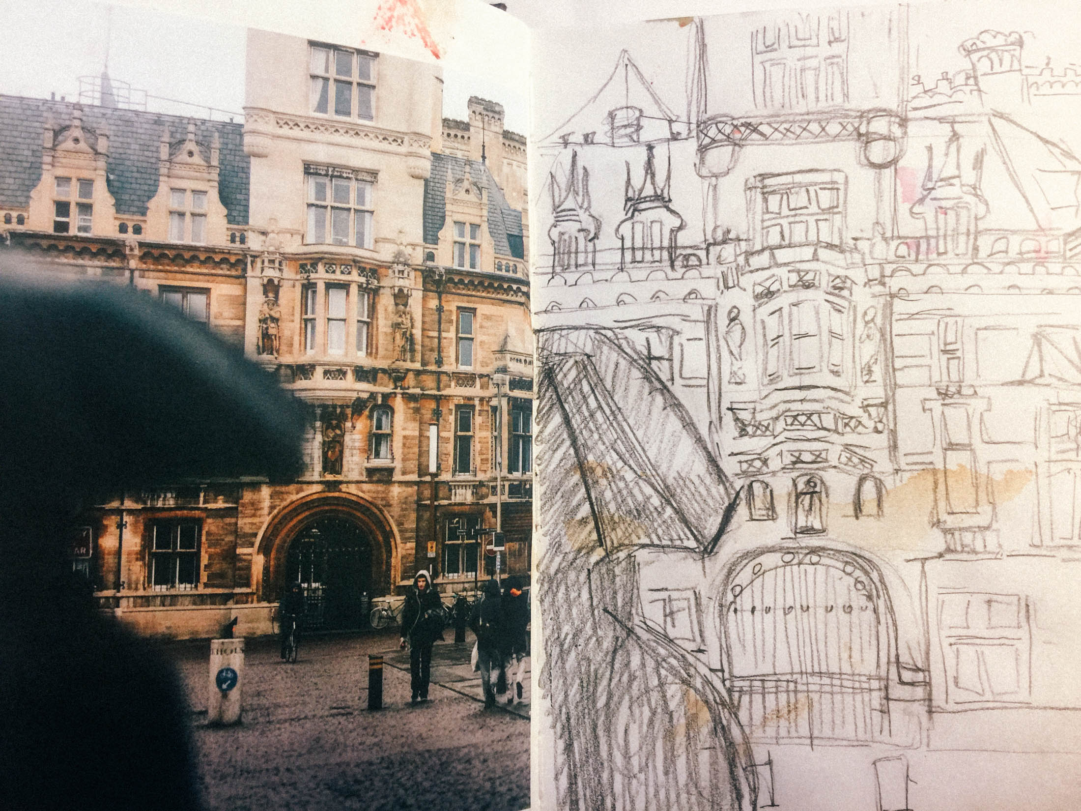 drawing & sketching along with photography