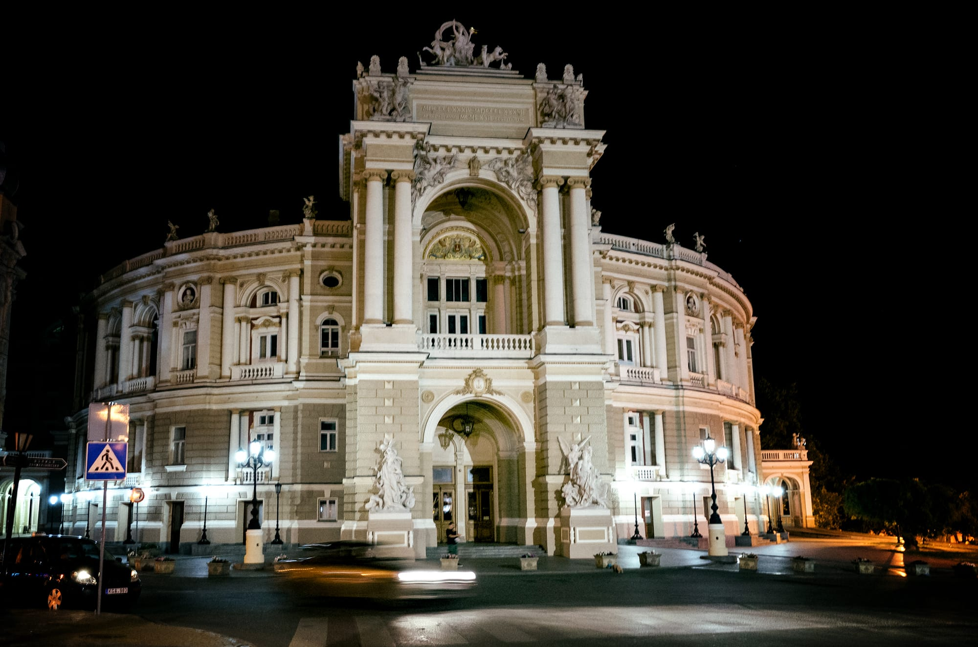 odessa ukraine theatre