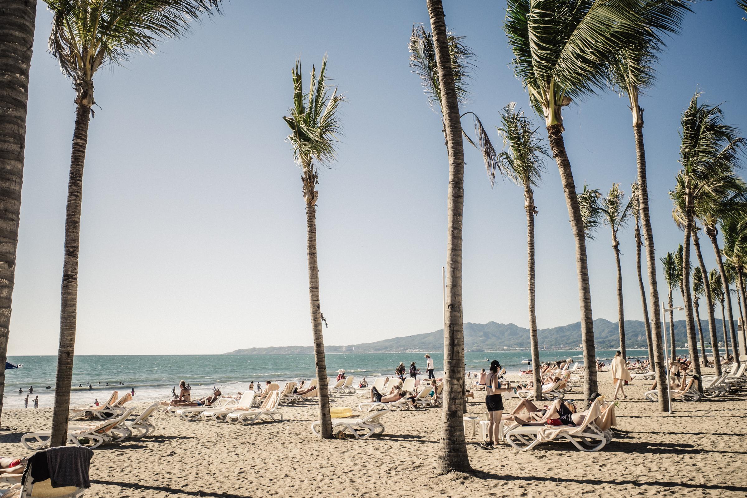 Puerto Vallarta beach in Mexico