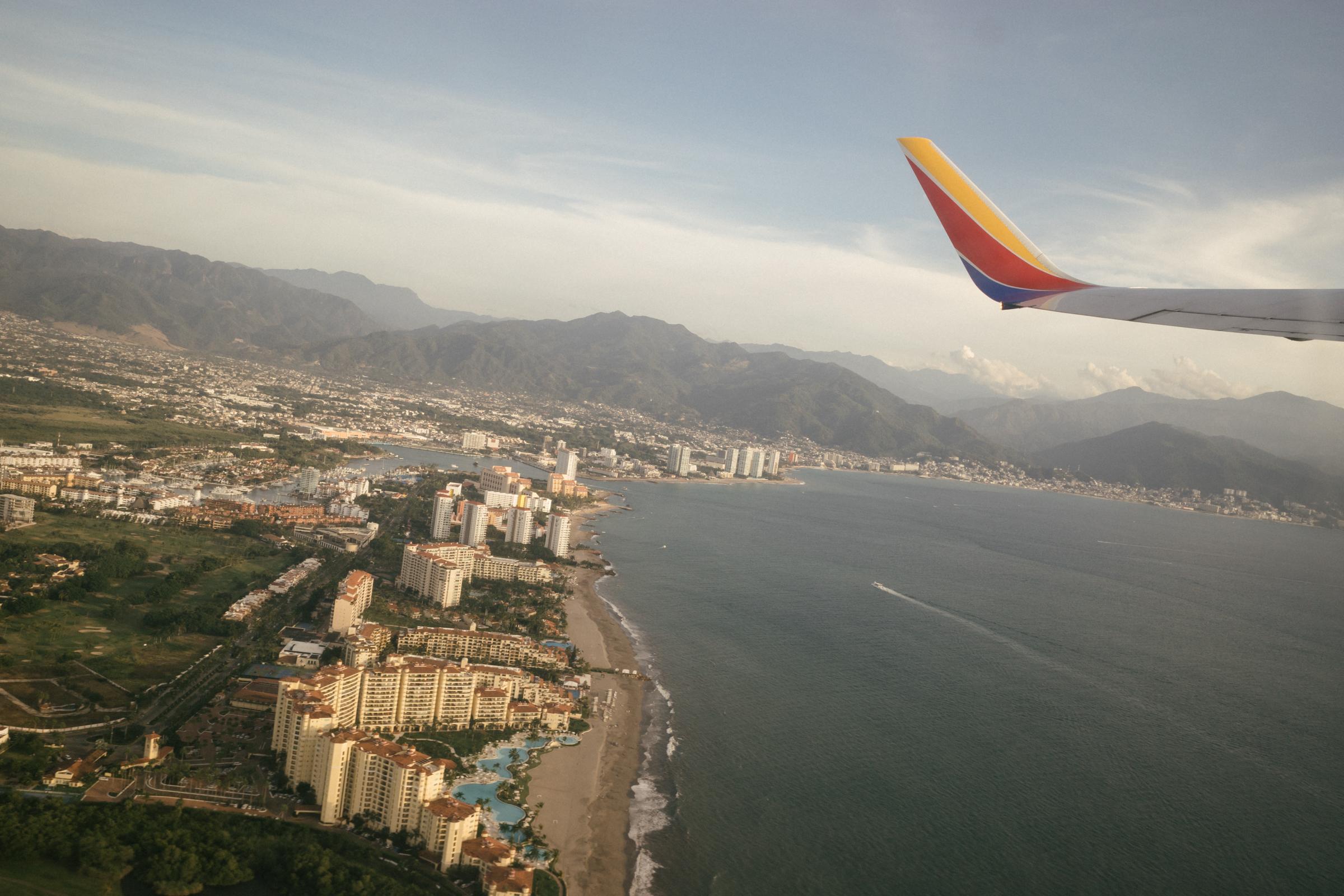 Southwest flying into Puerto Vallarta
