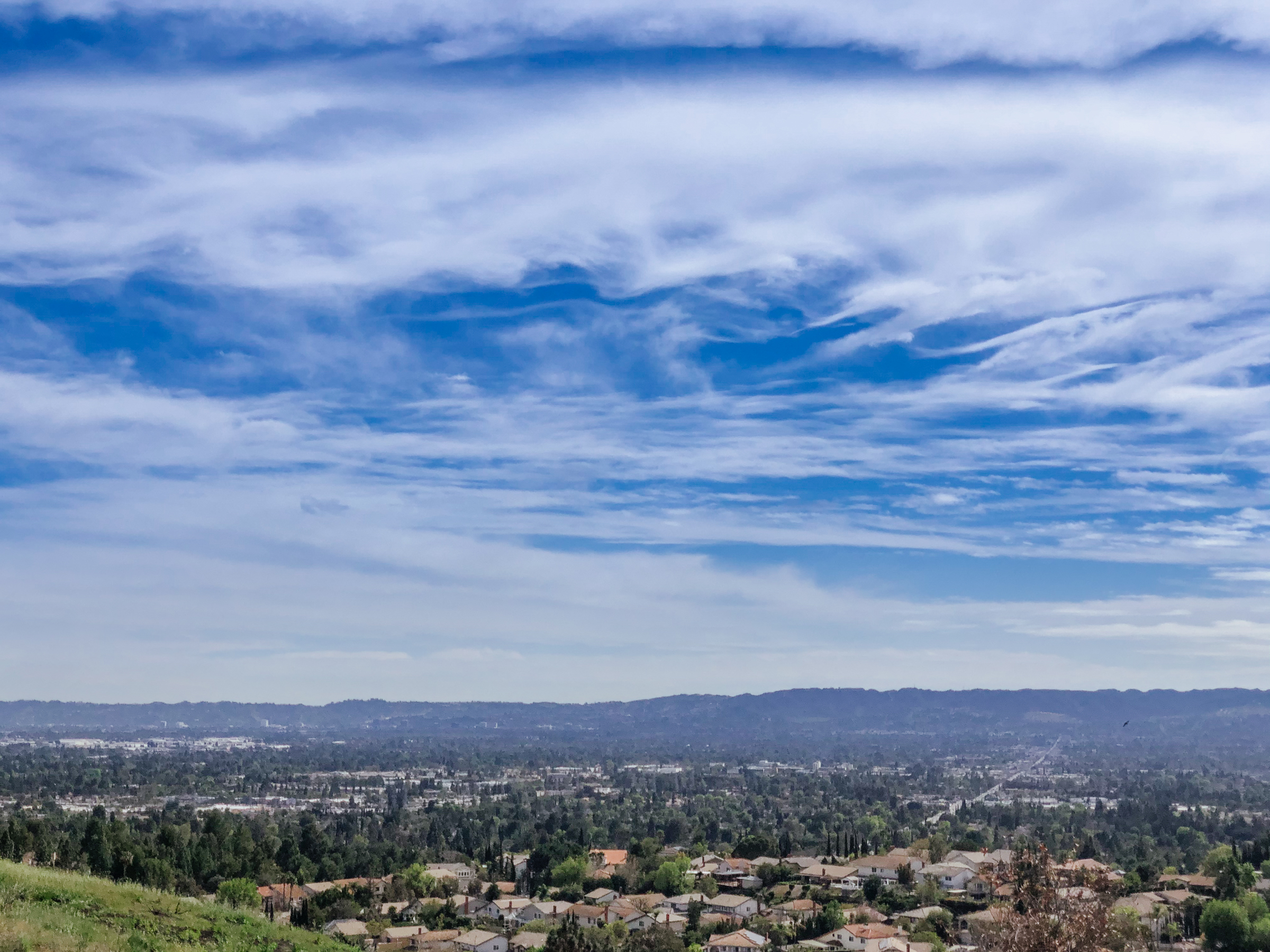 San Fernando Valley view from Porter Ranch