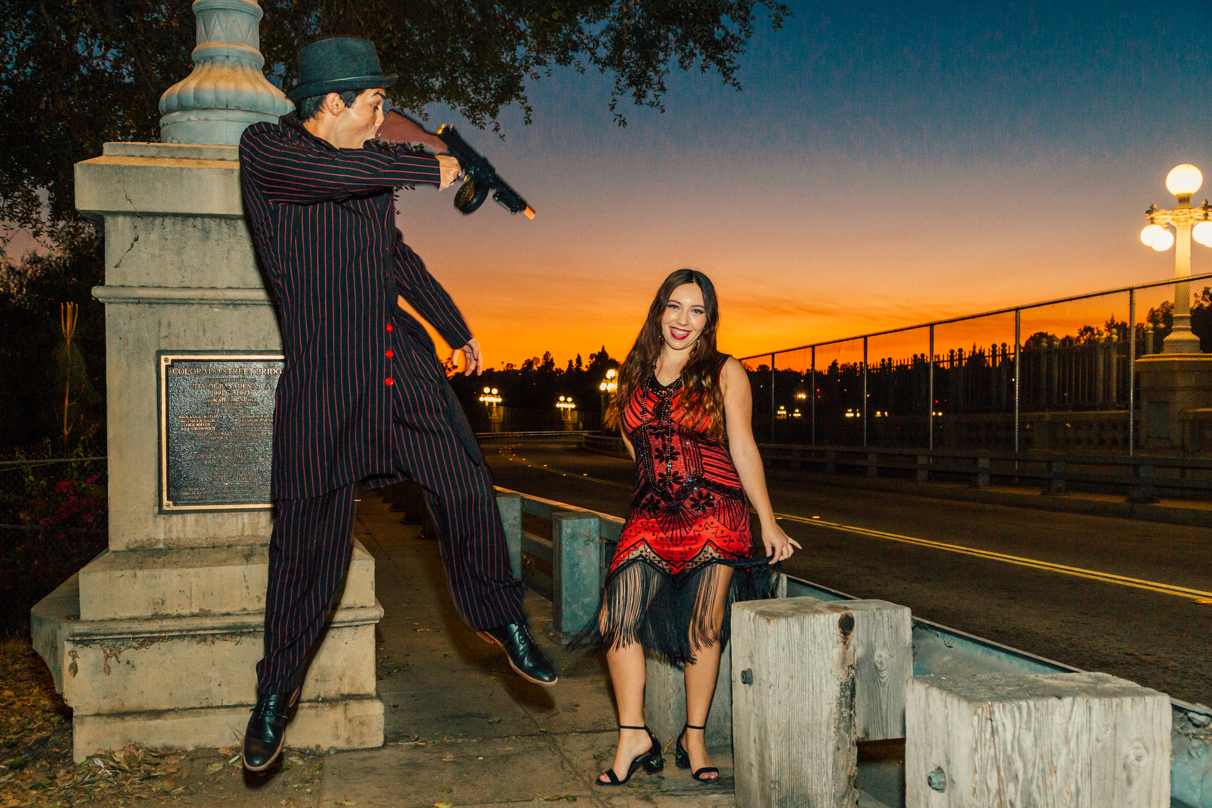Pasadena Great Gatsby Photo Shoot Photography